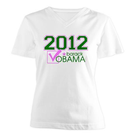 AKA President Obama v-neck tshirt