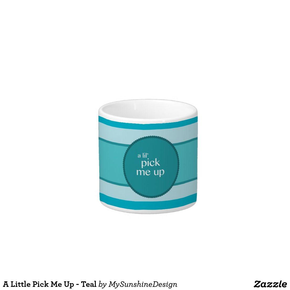 Teal 6 Oz Ceramic Espresso Cup
