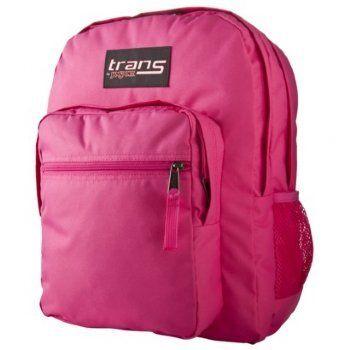 Trans By Jansport Super Max Hot Pink Backpack. Jansport Quality ...