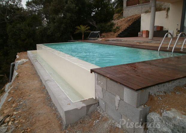 Detalle piscina infinity buscar con google piscinas for Detalles constructivos de piscinas