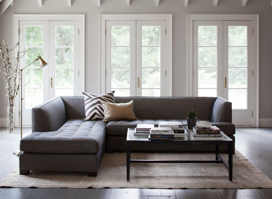Jordan Sectional - Sofas - Furniture | Jayson Home #fall2013. Living Room SectionalSectional SofasGrey ... : grey sectional decorating ideas - Sectionals, Sofas & Couches