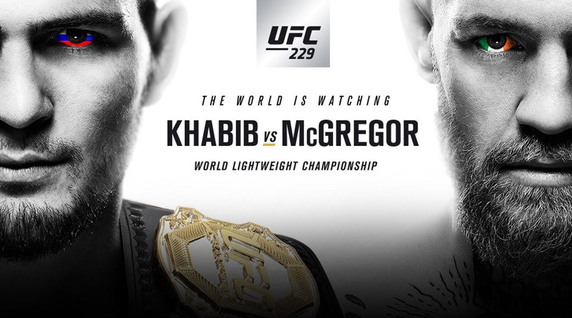 BET ON CONOR MCGREGOR VS KHABIB NURMAGOMEDOV SUPERFIGHT