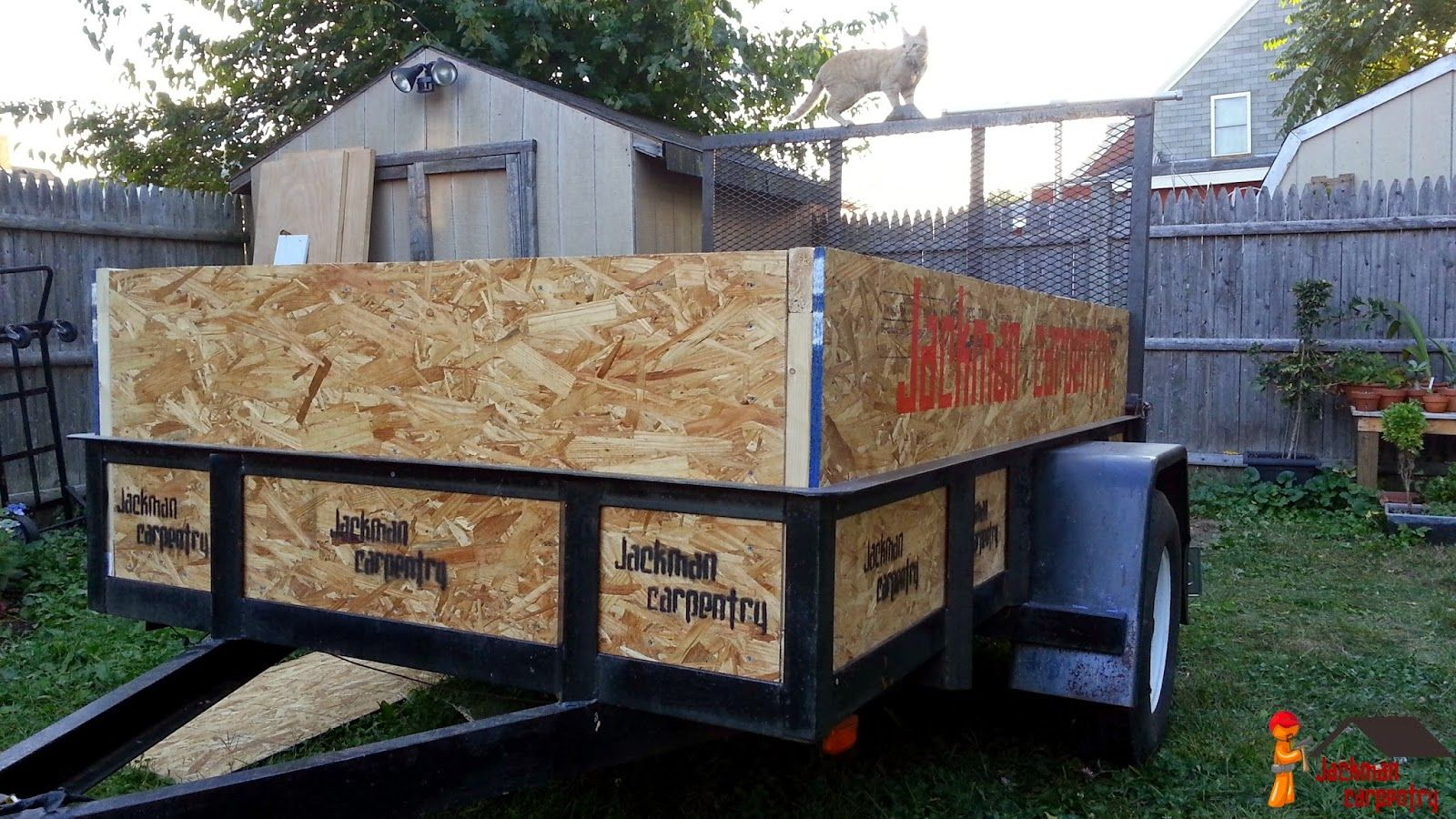 Jackman Works Customized Utility Trailer Sides And