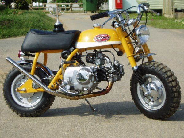 Honda Monkey Honda Motorbikes Mini Bike Vintage Bikes