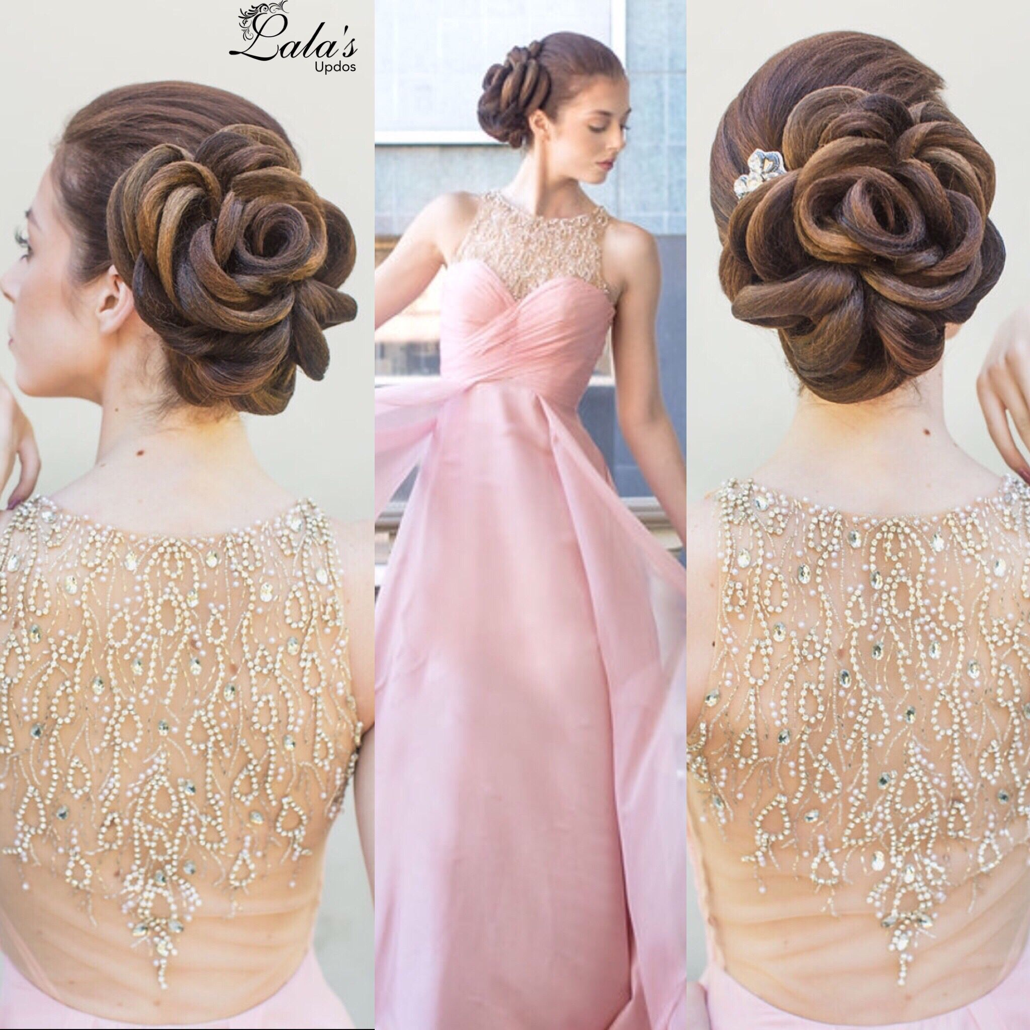 Rose Updo / Updos / Upstyles / Bridal Hair / Bridal Updos / Wedding ...