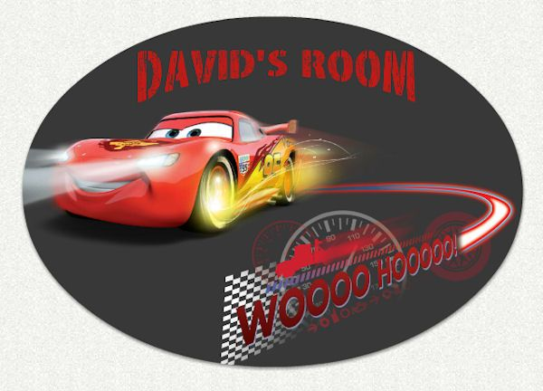 Disney Cars Whoosh Custom Wall Decal   Wall Sticker, Mural, U0026 Decal Designs  At Wall Sticker Outlet