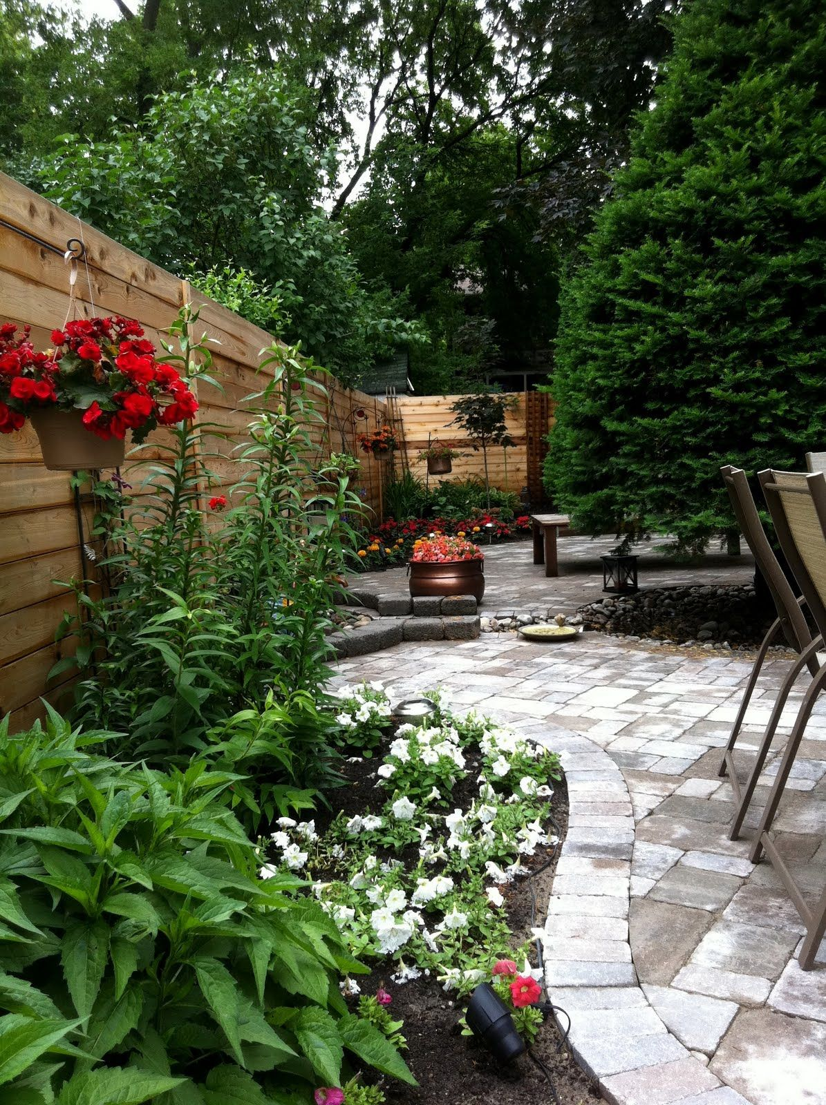Toronto Backyard Landscape Design Build Project Backyard