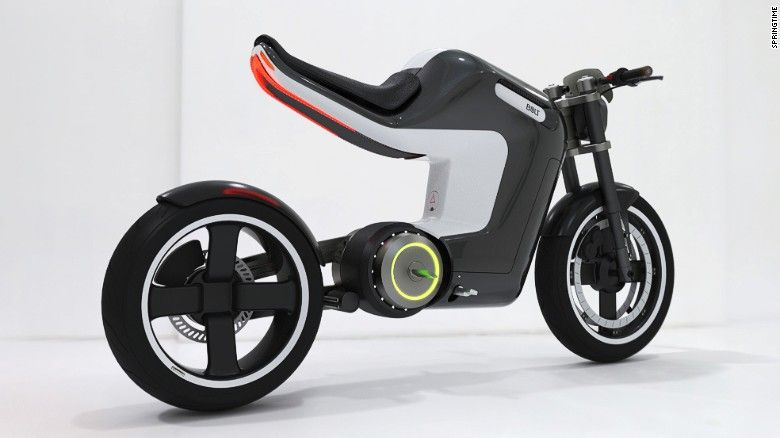 E Bikes A Clean Getaway In A Polluted World Electric Motorcycle
