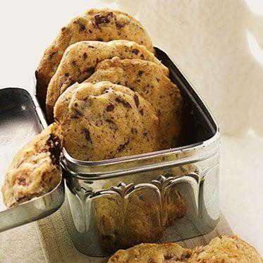 Pfeffrige Schoko-Cookies