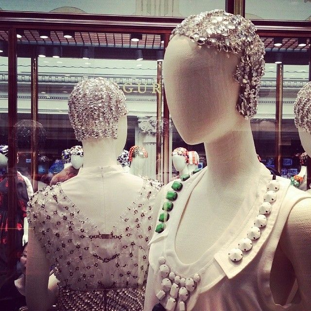 Because who doesn't need bejeweled hair? #pradasphere