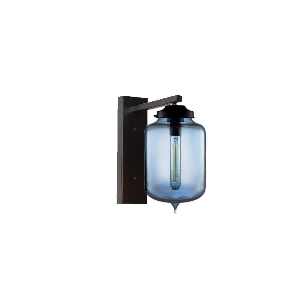 Industrial Cylinder Glass Wall Light CLB Glass wall lights