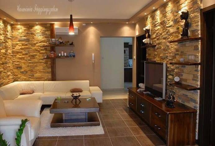 Fantasztikus és elegáns nappali - hálószoba ötletek ...