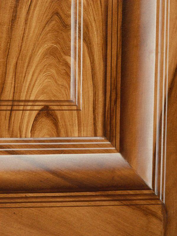 moulure sur ronce de noyer faux bois en 2019 faux bois. Black Bedroom Furniture Sets. Home Design Ideas