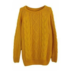 Rhombus Cable Knit Yellow Jumper,@pariscoming #Pariscoming #Paris #fallfashion #fallstyle #falltrends #fallingfor #fall #winterfashion #winterstyle #wintertrends #winterfor #winter #cardi #clothing #inspirational #fashionable #ontrend #stylist #Styling #StreetStyleSeason #streetstyle #fashionblog #fashiondiaries #fashiondiary #WearIt #WhatYouWear If you like,follow me and find it on our online store.