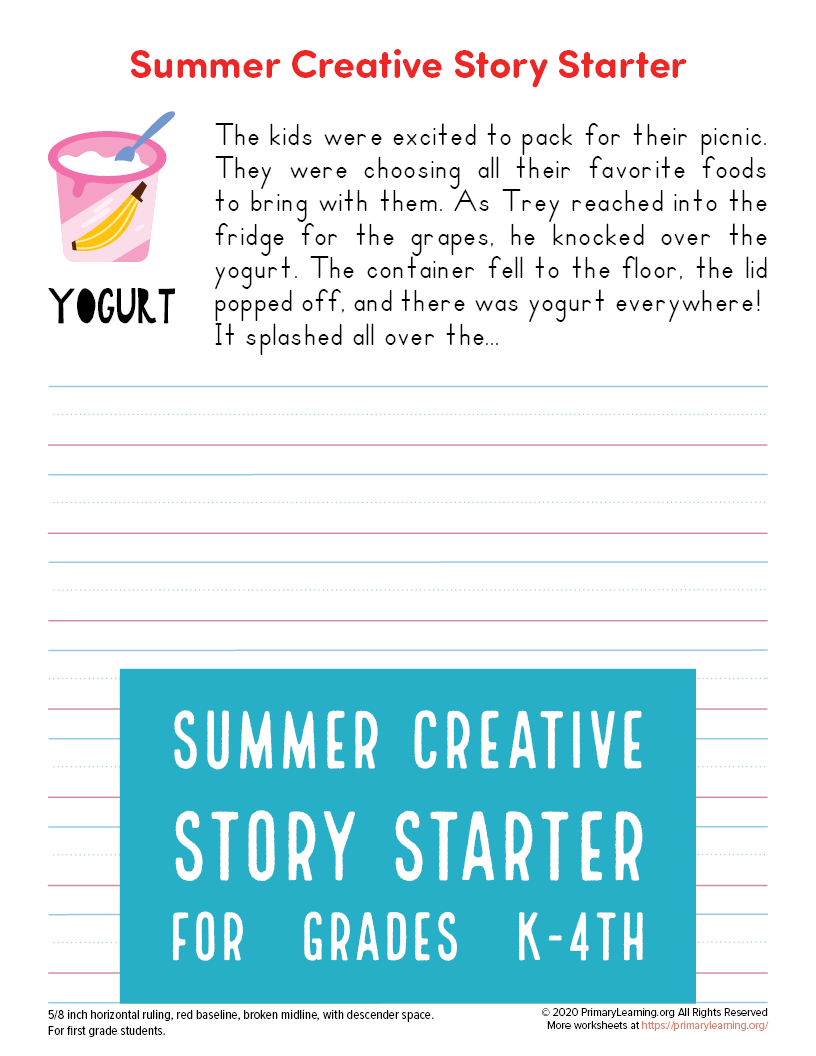 One Of The Most Difficult Challenging Parts Of Creative Writing Is Getting A New Piece Started What Will Summer Writing Prompts Story Starters Summer Writing [ 1056 x 816 Pixel ]