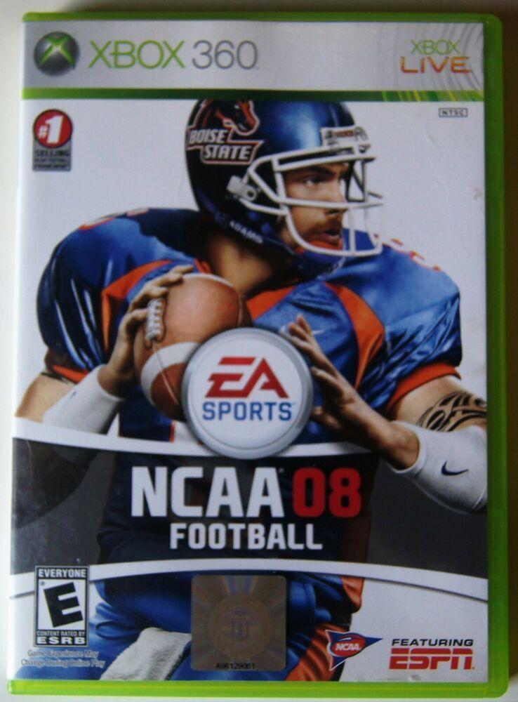 Ncaa Football 08 Microsoft Xbox 360 2007 Ea Ncaa Football