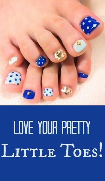 12 Nail Art Ideas For Your Toes Dream Closet Pinterest Nails