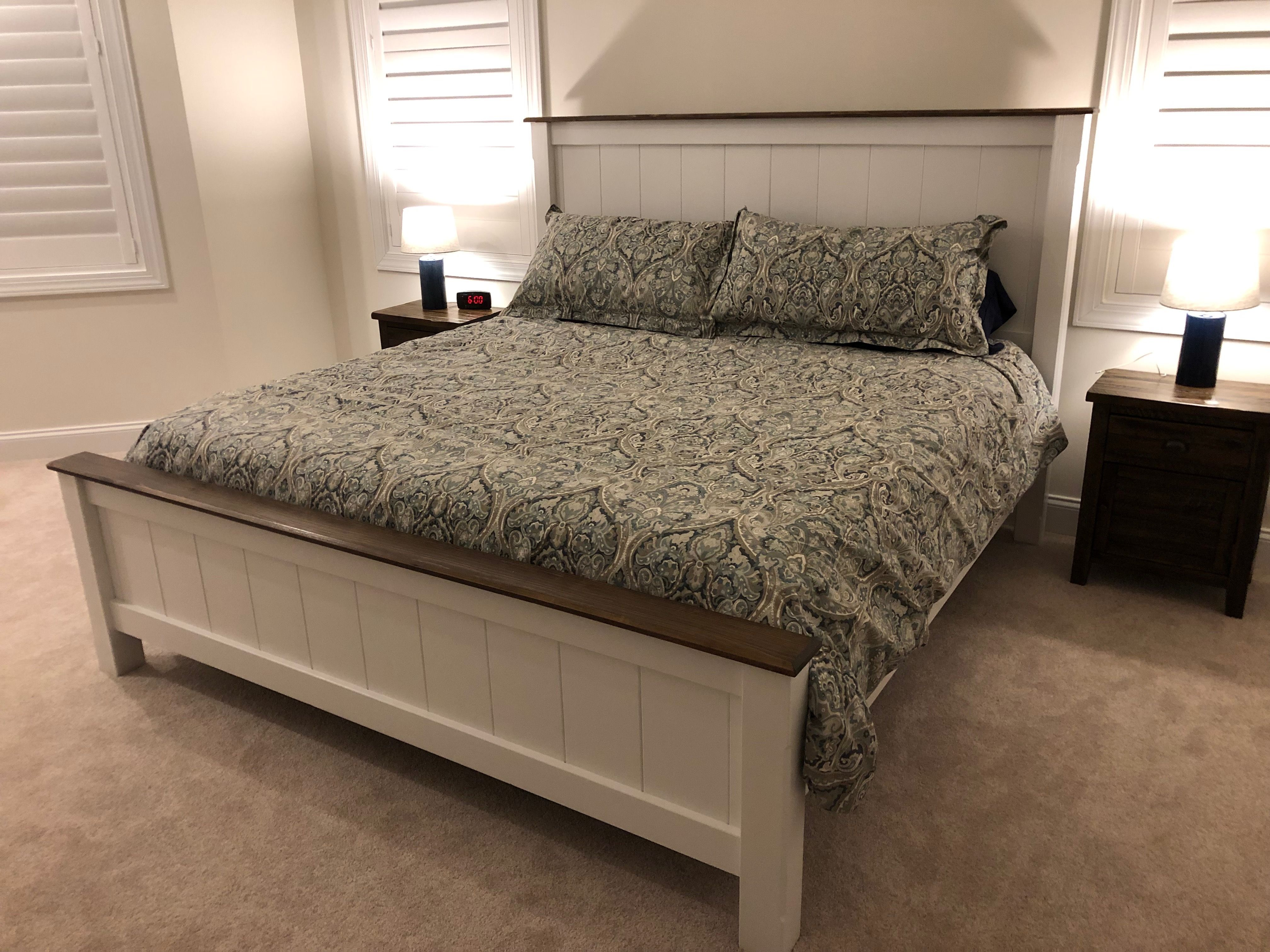 Ana White   King Farmhouse Bed   DIY Projects   Farmhouse ...