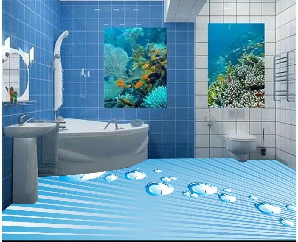 (Buy here: http://appdeal.ru/20h3 ) 3d photo wallpaper custom 3d flooring painting wallpaper murals Ray floor 3d drops 3d wallpaer living room for just US $61.11
