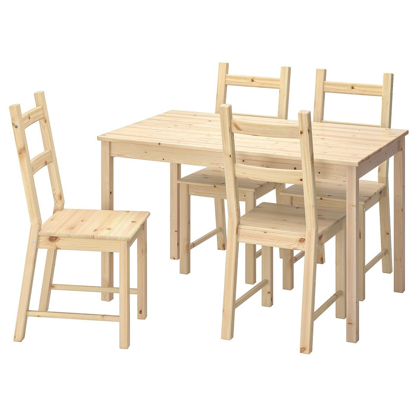 Ingo Ivar Table And 4 Chairs Pine Pine Table Chair Ikea