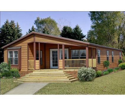 Pin By Kathy Wright On Outdoors Double Wide Home Manufactured Home Porch Mobile Home Porch