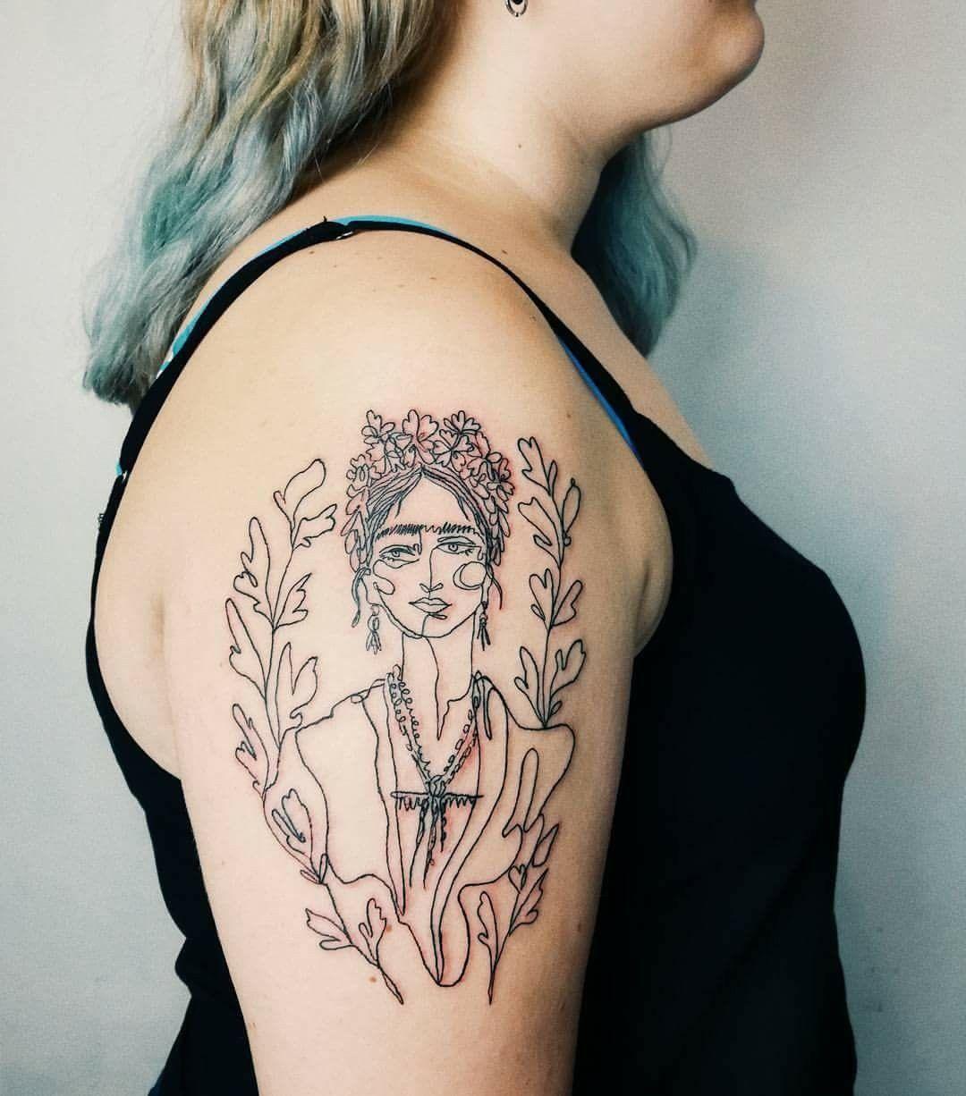 Frida Kahlo Tattoo Tattoos Body Art Tattoos Pretty Tattoos