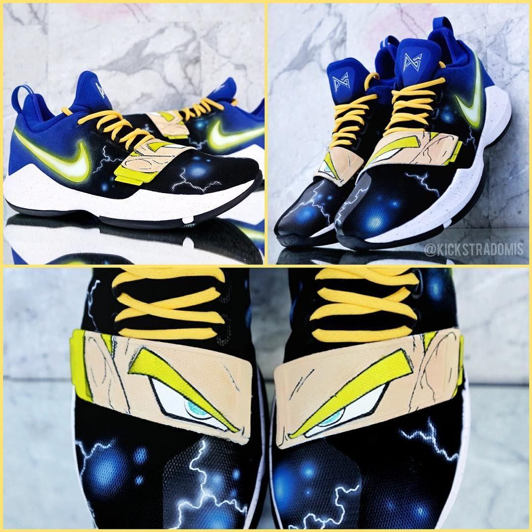 Custom 'Dragon Ball Z' Nike PG1