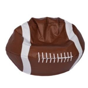 Acessentials Sports Bean Bag Chair Brown Bean Bag Chair Football Bean Bag Bean Bag Gaming Chair