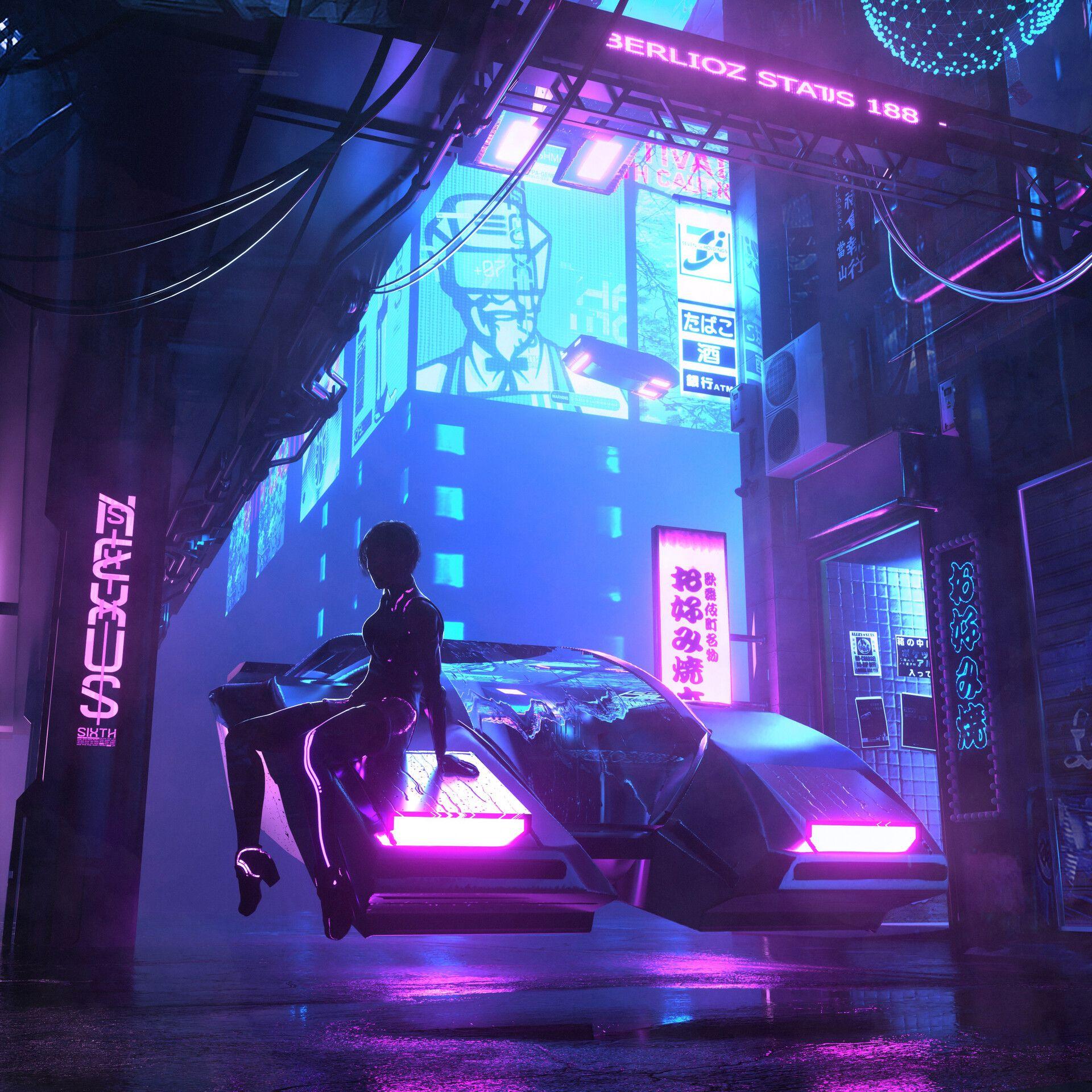 Cyberpunk aesthetic image by nokfyt on cyberpunk
