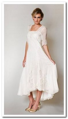 second wedding dresses for older brides - Google Search - This is ...