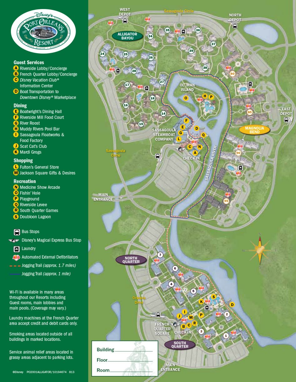 Port Orleans Riverside Resort Map | Disney info | Pinterest | Disney ...