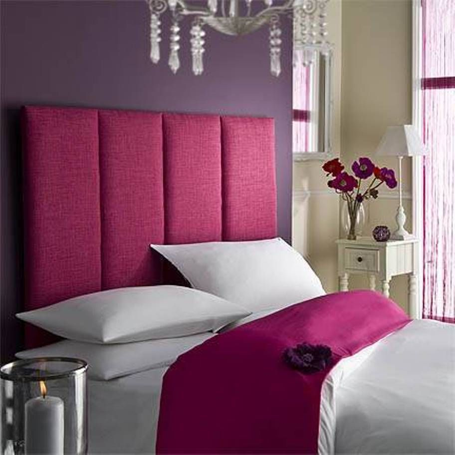 King Size Bed Headboard Pink Modern Ideas Bedroom Wall