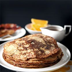 Danish pancakes - crepes - perfect for special occasions like birthdays and brunches.