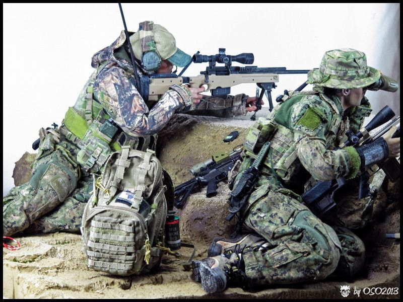 Modern War (1990s to Present) US Navy SEALs - SEAL Team 8