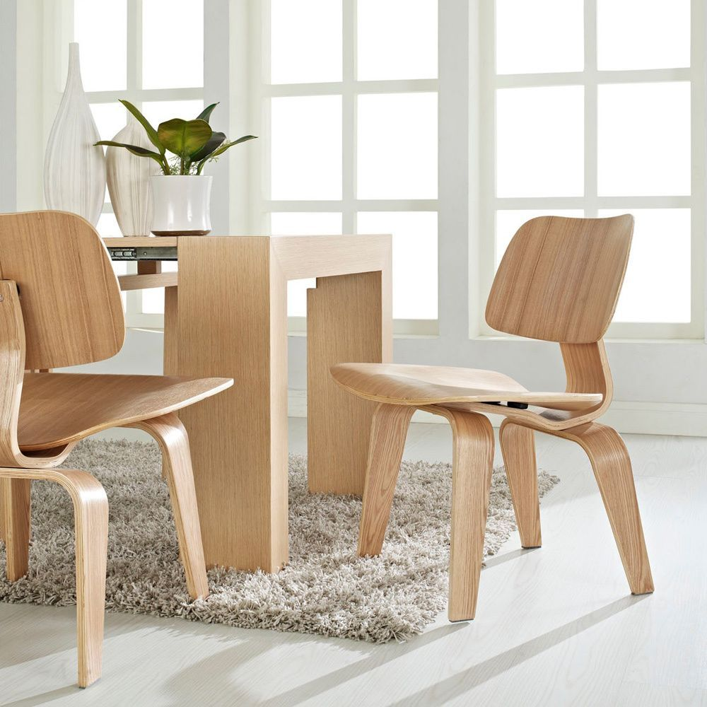 walnut molded dining chairmodway | more oak plywood ideas