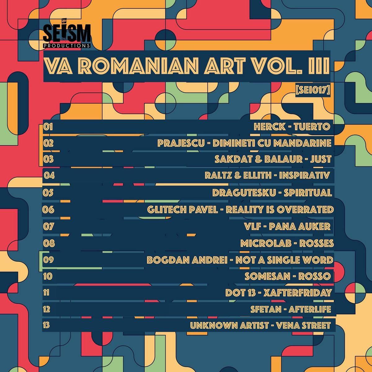VA VA Romanian Art Vol. III / SEI017 in 2020 Single