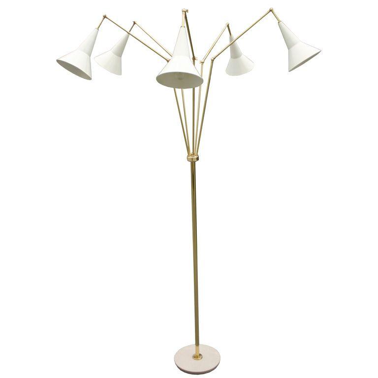 Multi Adjustable Italian Floor Lamp Modern Lighting Italian