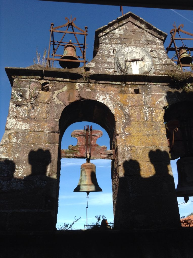 Portugal - Old bell tower Bussaco Palace