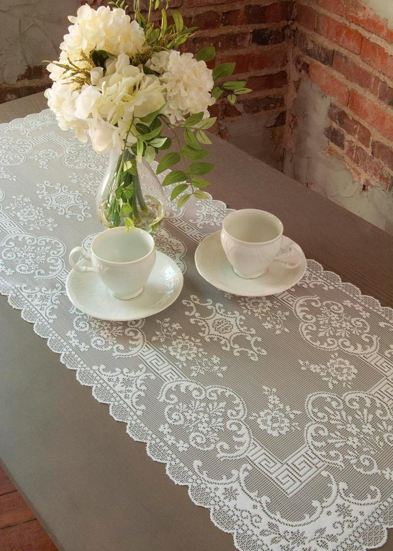 Bon Filigree Lace Table Runner In 2 Sizes
