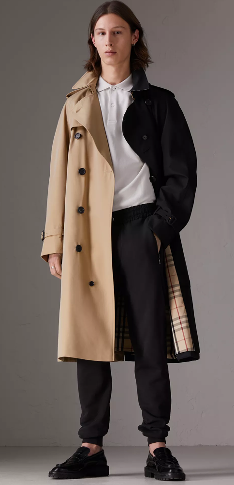Trench Coats For Men Burberry, Oversized Trench Coat Mens