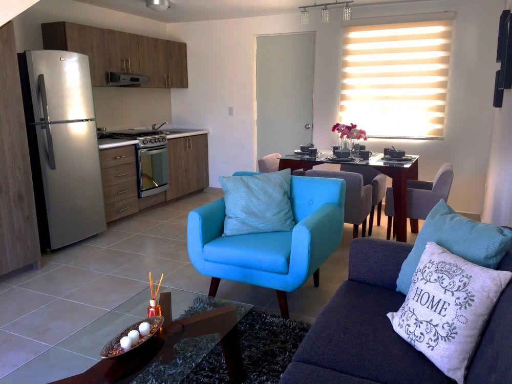 Exterior decoraci n de espacio pinterest espacios for Salas espacios pequenos