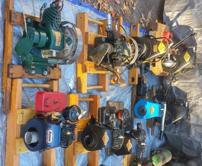 For Sale: small engine collection as a lot (Maytags, Briggs