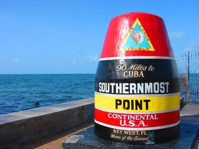 Southernmost Point Key West - Monuments and Historic Buildings