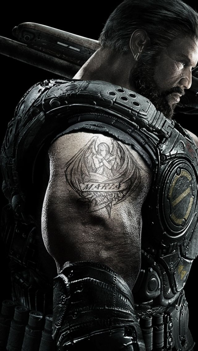 Iphone 5s 5c 5 Gears Of War 3 Wallpapers Hd Desktop Backgrounds Gears Of War Gears Of War 3 Gears