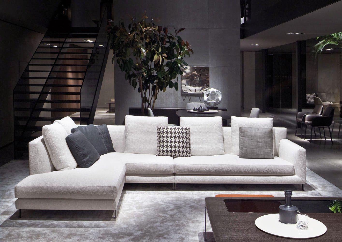 Decoraciones de salas con sofa en l google search for Moderno furniture