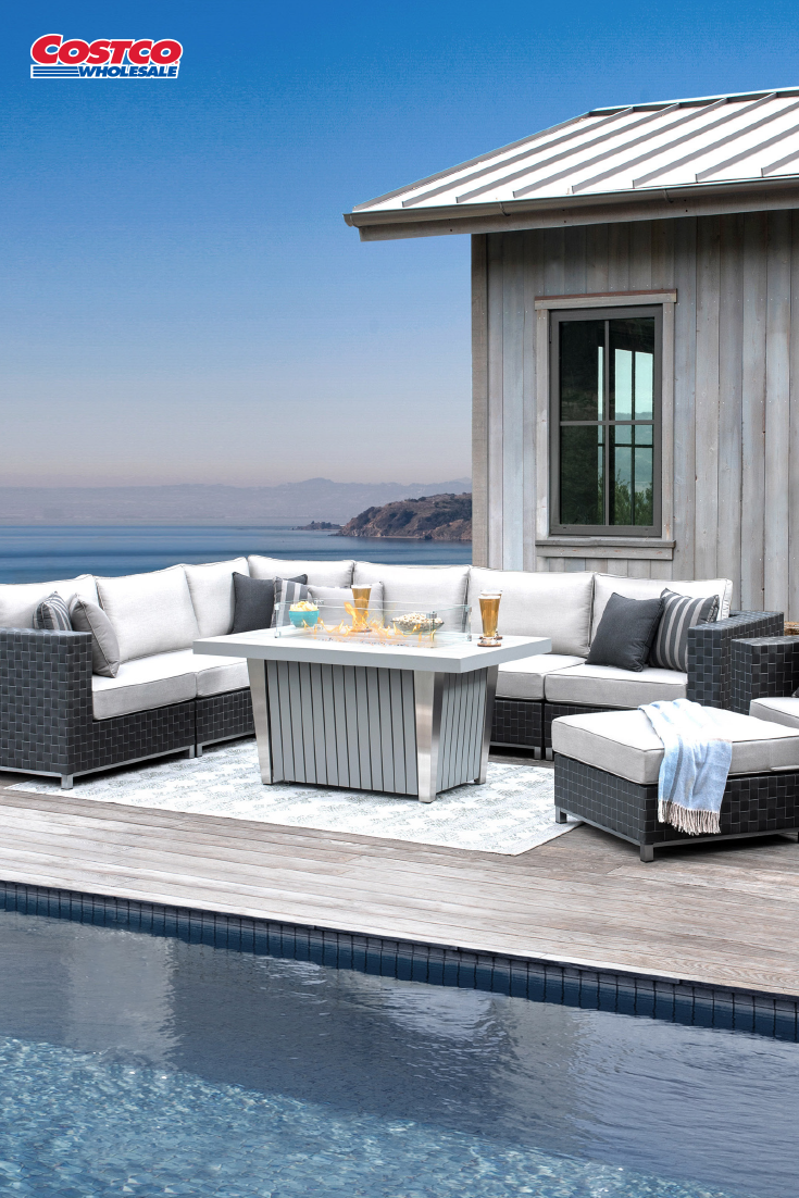Soho 10 Piece Seating With Fire By Sirio Patio Seating