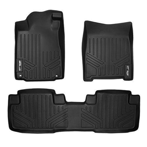 Maxfloormat Floor Mats For Honda Crv 20122016 Complete Set Black See This Great Product Honda Cr Car Accessories Honda Crv