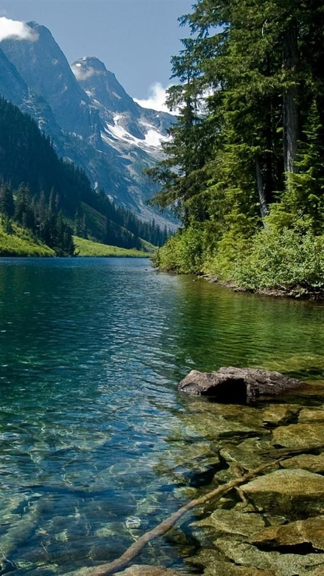 River Mountains iphone 5 wallpapers downloads рiчки