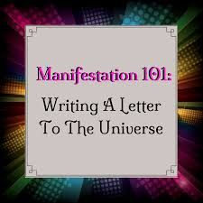 image result for sample letters to the universe letters letter