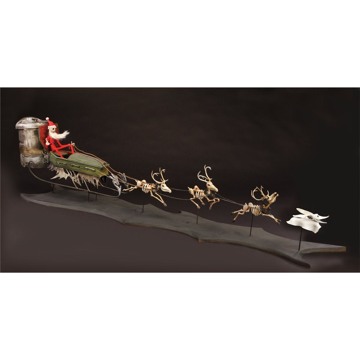 Original Santa Jack sleigh with Jack, Zero and reindeer from The ...